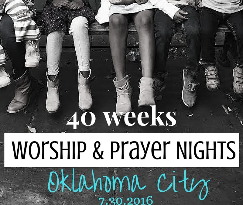 Praying in Oklahoma City in July